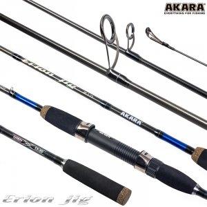 Спиннинг штекерный угольный 2 колена Akara Erion Jig TX-30 (5-25)