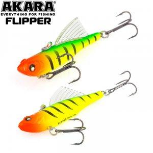 Воблер Akara раттлин Flipper 70