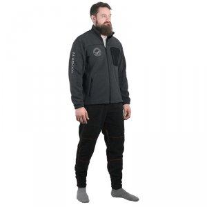 Куртка флисовая Alaskan North Wind темно-серая