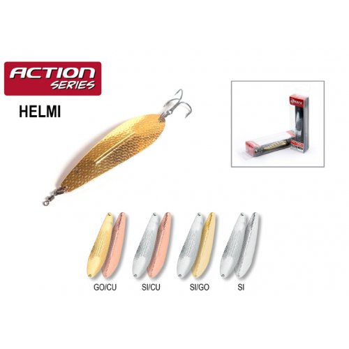 Блесна колебалка Akara Action Series Helmi
