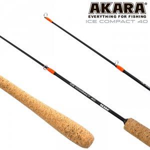 Удочка зимняя Akara Ice Compact 40 см