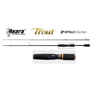 Спиннинг штекерный угольный 2 колена Akara 3169 Effect Series Trout IM8