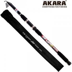 Удилище телескопическое стекло карповое Akara TS Carp 3Lbs 4,2 м