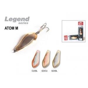 Блесна колебалка Akara Legend Atom M со вставкой