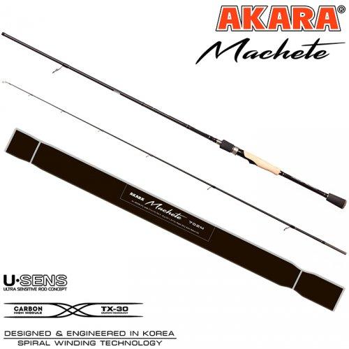 Спиннинг штекерный угольный Akara Machete (17-45) MH