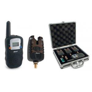 Набор 3 сигнализатора клёва Akara Carp Pro с рацией