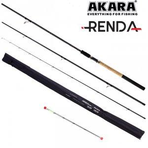 Удилище штекерное угольное фидерное 3 колена Akara Renda Feeder TX-20