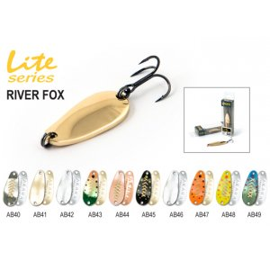 Блесна колебалка Akara Lite Series River Fox