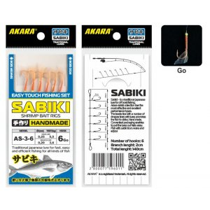 Сабик Akara Shrimp Bait Rigs 3 Go