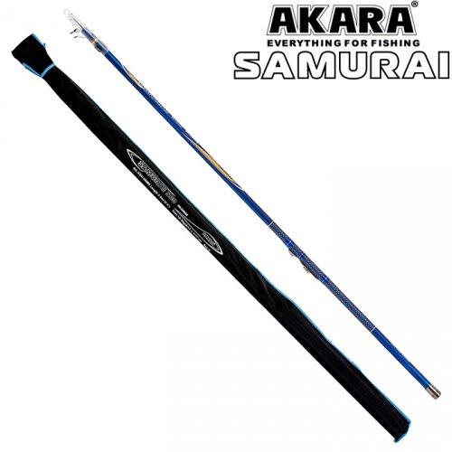 Удилище телескоп угольное д/с Akara Samurai IM9
