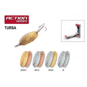 Блесна колебалка Akara Action Series Tursa