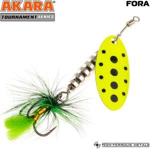 Блесна вертушка Akara Tournament Series Fora 1