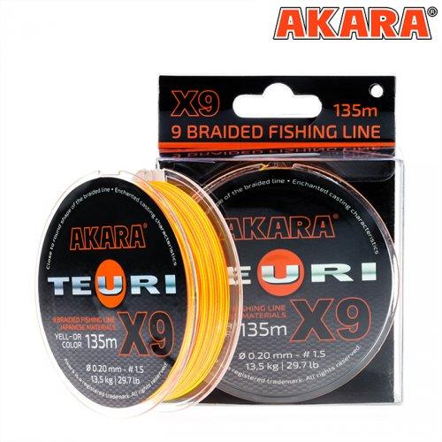 Шнур Akara Teuri Yellow-Orange 135 м
