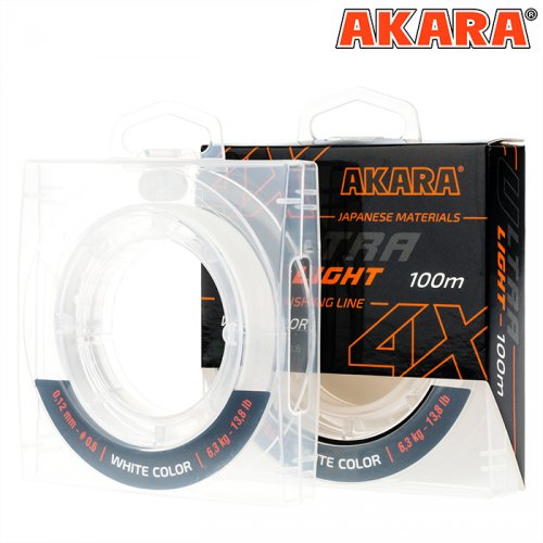 Шнур Akara Ultra Light White 100 м