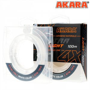 Шнур Akara Ultra Light White 100 м