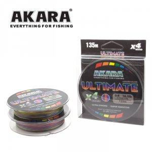 Шнур Akara Ultimate X-4 Multicolor 135 м