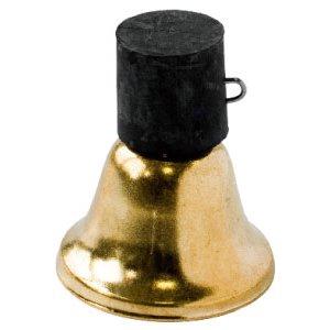 Колокольчик золотой средний 8103845P с резиновым креплением