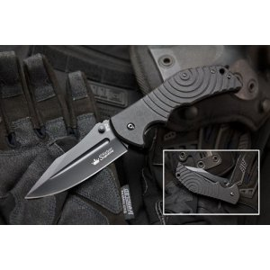 Нож Bloke-Z Чёрный D2
