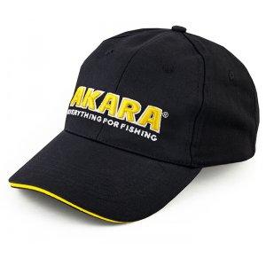 Кепка-бейсболка Akara Classic черная