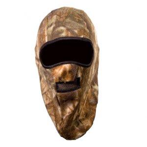 Шапка-маска флис. 2 отверстия + сетка КМФ