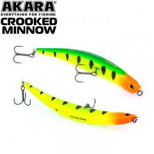 Воблер Akara Crooked Minnow 110F