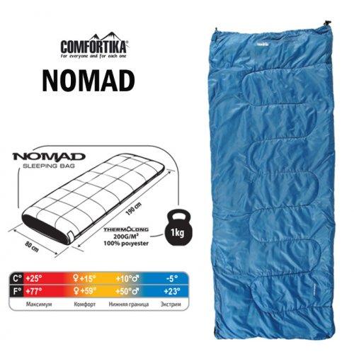Спальник Comfortika Nomad L 190x80x80 см +15C/-5C