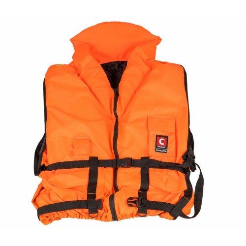 Жилет Comfort Navigator спасательный с подголовникоми свистком 20-140 кг (сертификат)