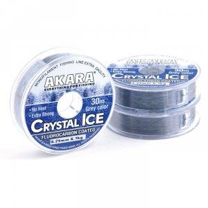 Леска Akara Crystal ICE Grey 30 м