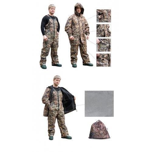 Костюм всесезонный Tagrider Defender микрофибра куртка + п/к