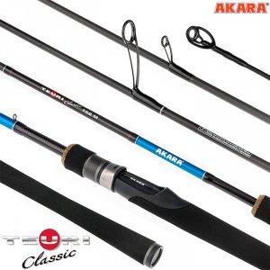 Спиннинг штекерный угольный 2 колена Akara Teuri Classic M TX-30 (8-24,5)