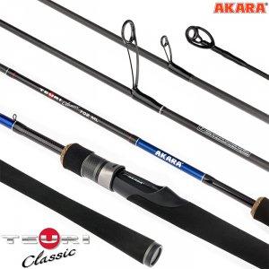 Спиннинг штекерный угольный 2 колена Akara Teuri Classic ML TX-30 (5,5-17,5)