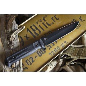 Нож Delta Черный AUS8