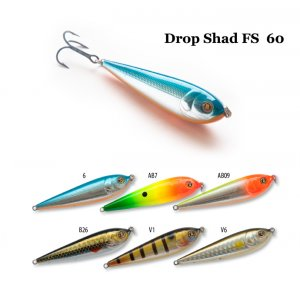 Воблер RAIDEN Drop Shad FS