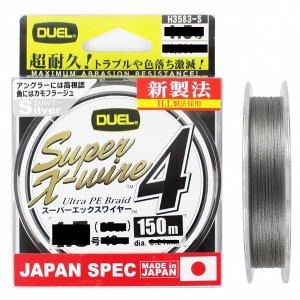 Шнур Duel PE Super X-Wire 4 150m Silver