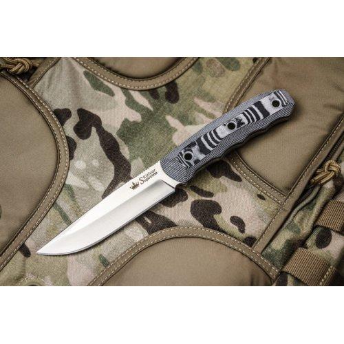 Нож Echo AUS-8 S (Сатин, G10, Ножны кайдекс)