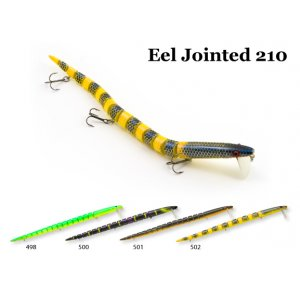 Воблер RAIDEN Eel Jointed 210