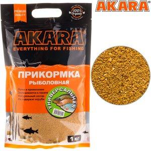 Прикормка Akara Premium Organic 1,0 кг Универсальная