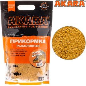 Прикормка Akara Premium Organic 1,0 кг Карп/Карась