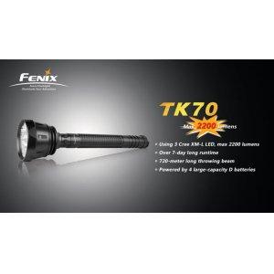 Фонарь Fenix Flashlights TK70 XM-L (2200лм)