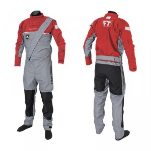 Сухой Костюм Finntrail Drysuit 2501 Grey Red