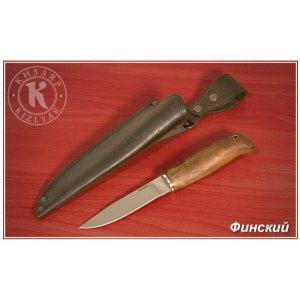 Нож Финский (дерево-орех)
