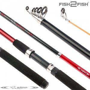 Спиннинг телескоп стекло к/с Fish 2 Fish Rapid (10-40)