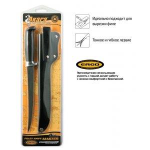 Нож Akara Fillet Master FK18-20 20 см кожаный чехол