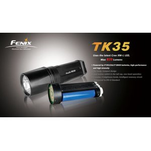 Фонарь Fenix Flashlights TK35 XM-L (820лм)