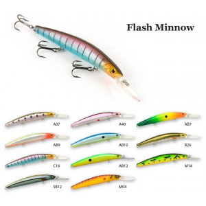 Воблер RAIDEN Flash Minnow