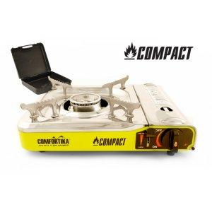 Плитка газовая Comfortika Compact с переходником