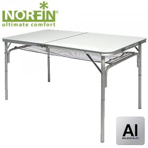 Стол складной Norfin Gaula-L NF Alu 120x60