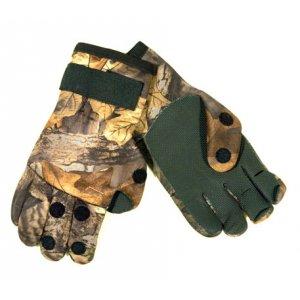 Перчатки TR 091-2 неопреновые 3 откидных пальца