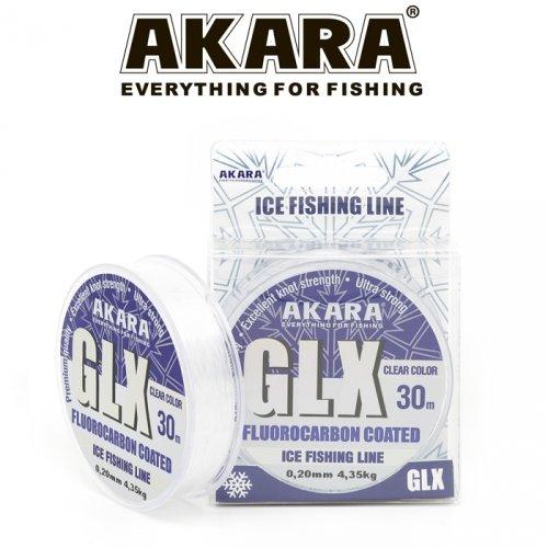Леска Akara GLX ICE Clear 30 м