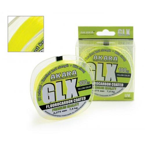 Леска Akara GLX Premium Yellow 100 м